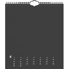 Calendrier créatif perp 21,5x24doré