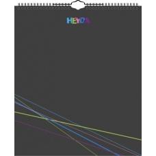 Calendrier créatif perp 29x35 noir