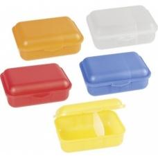 Boîte à goûter 15,5x11x5,3cm 3c ass