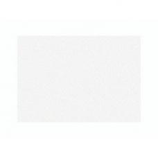Carte double A5 mét.blanc per.