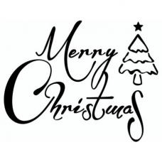 Tampon Merry Christmas1