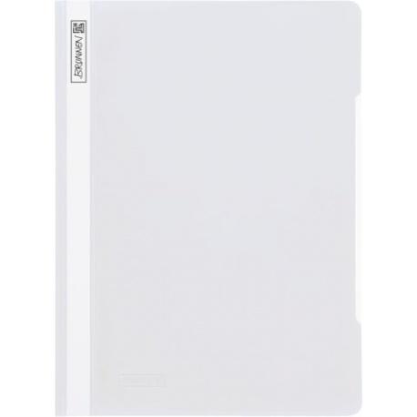 Chemise à lamelles A4 blanche PVC