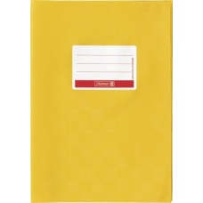 Protège-cahier pr A5 opaque bouton or