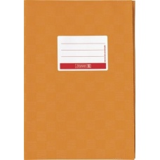 Protège-cahier pr A5 opaque orange