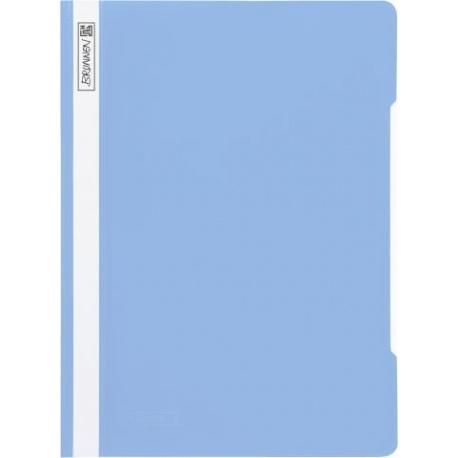 Chemise lamelles A4 bleu clair PVC