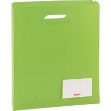 Boîte protectrice A4 ouverte verte