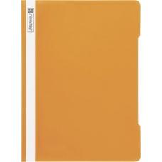 Chemise à lamelles A4 orange PVC