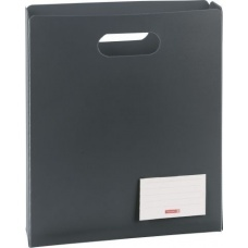 Boîte protectrice A4 ouverte anthracite