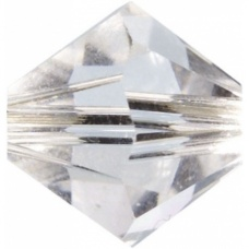 Swarovski Toupies6mm cristal 12pc