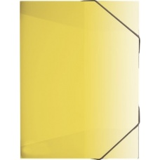 Boîte à cahiers A4 FACT!pp jaune