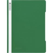 Chemise à lamelles A4 verte PVC
