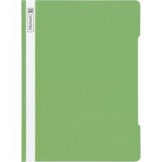Chemise lamelles A4 vert clair PVC