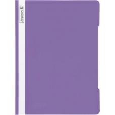 Chemise lamelles A4 violet cl PVC