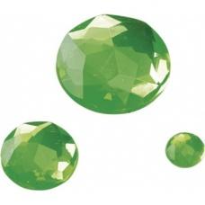 Pierre Glamour rond vert clair 100p