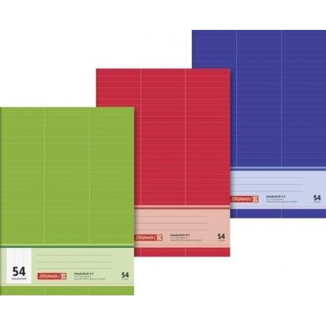 Cahier vocabulaire A4 3langues 64p