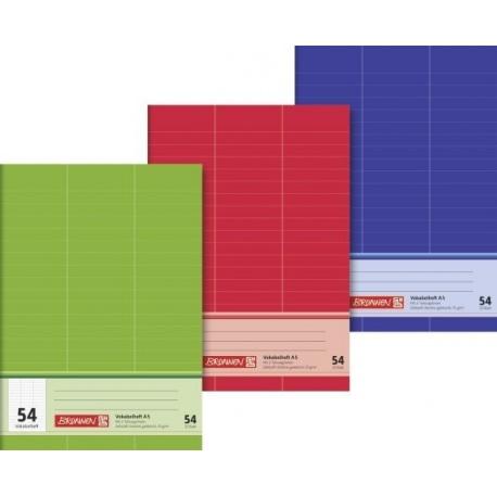 Cahier vocabulaire A5 3langues 64p