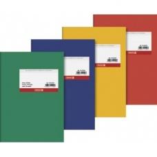 Cahier dos toilé A5 carton lign120p