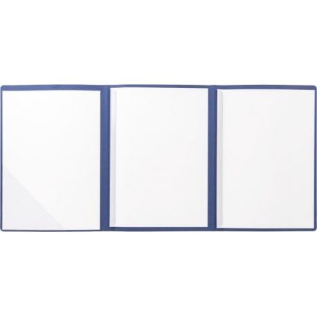 Chemise 3 volets LINES bleu