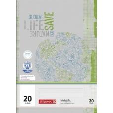 Cahier A4 régl.20 16Bl PR
