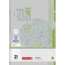 Cahier A4 régl.21 16Bl PR