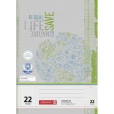 Cahier A4 régl.22 16Bl PR