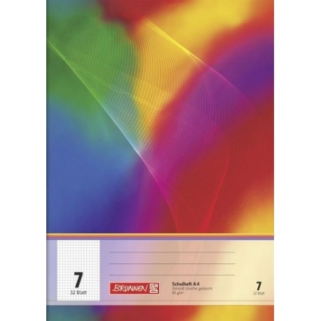 Cahier scolaire A4 n°7 64p