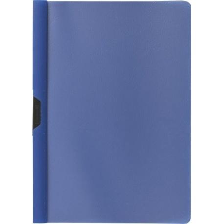 Chemise à clip A4 PP bleue