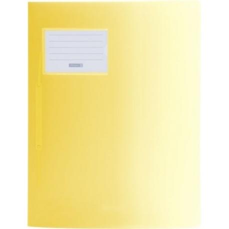 Chemise à lamelles A4 jaune FACT!