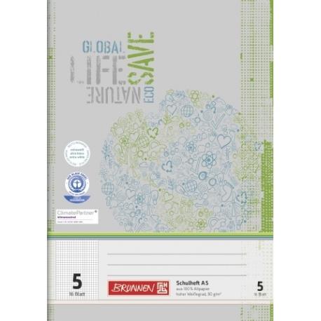 Cahier scolaire A5 recyclé n°5 32p