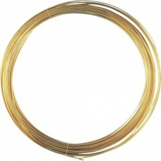 Fil mét. plaqué or vérit 0,4mm 15m