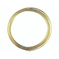Fil mét. plaqué or vérit 0,8mm 6m