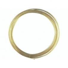 Fil mét. plaqué or vérit 1,0mm 4m