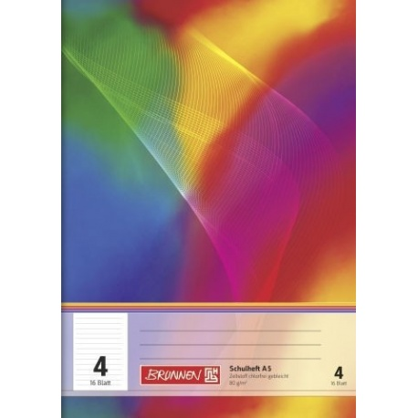 Cahier scolaire A5 n°4 32p