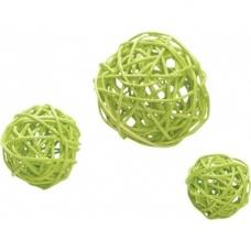 Set de boules sarment 3,5/4,5/7cm v