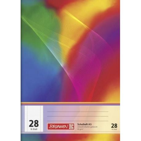 Cahier A5 BRUNNEN n°28 32p