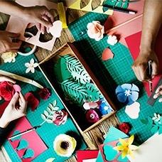 Papiers et cartons créatifs