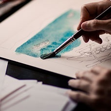 Peintures et vernis Colles